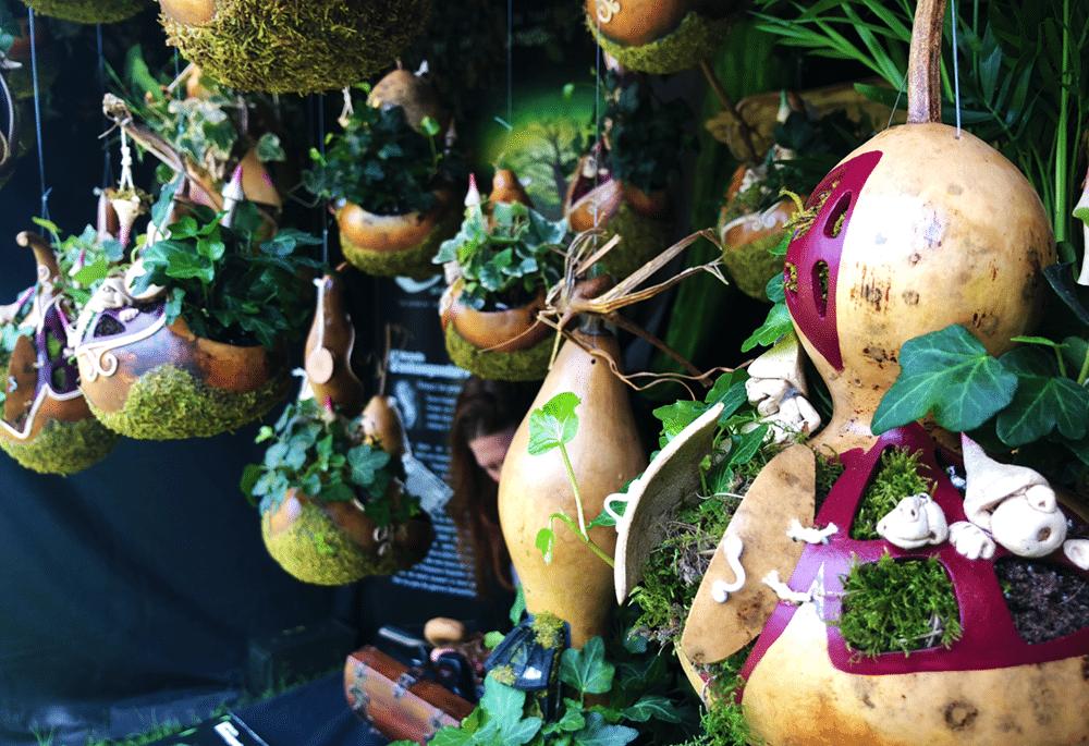 micro jardins suspendus