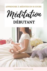 formation méditation pour débutant