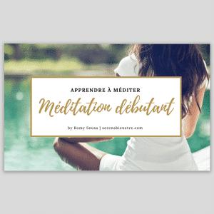 apprendre à méditer sereinement