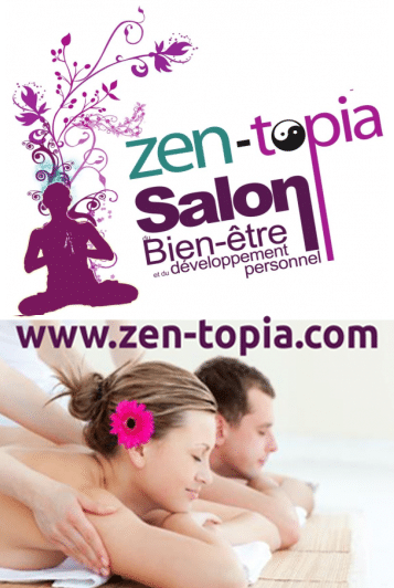 banniere salon zen topia belgique