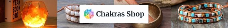 Banniere publicitaire Chakra Shop