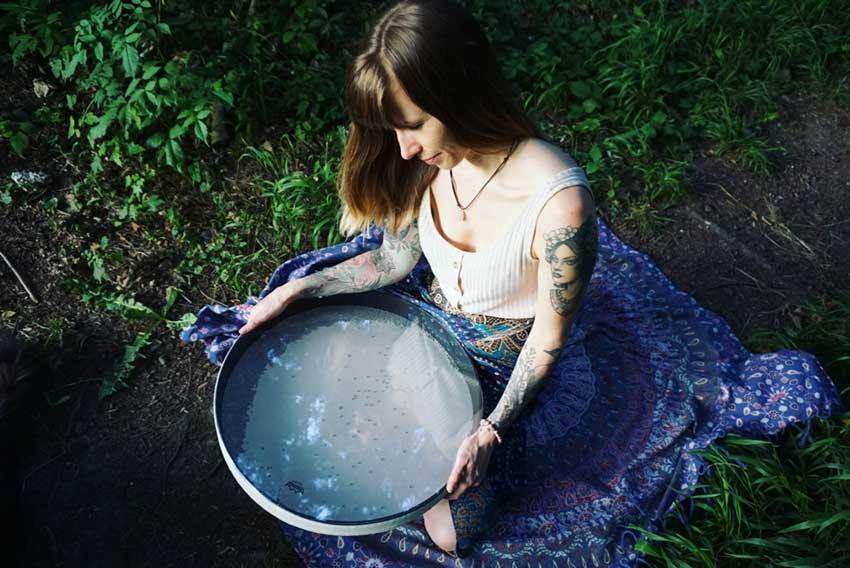 Christine et son tambour de l'océan