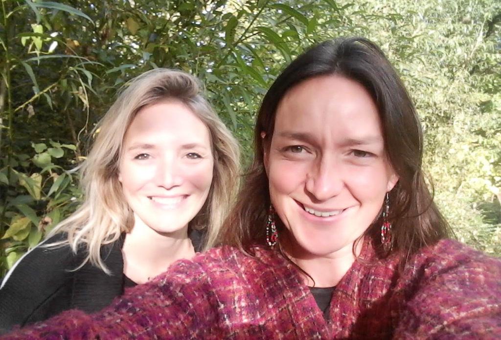 Claire et Linda, accompagnatrices retraite chamanique
